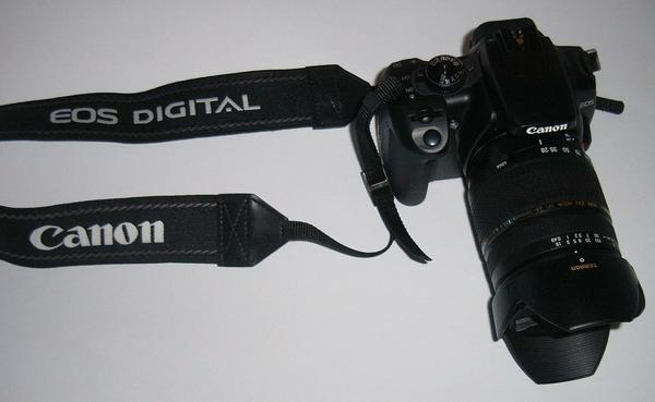 A photo of my shiney new EOS400D DSLR.
